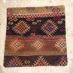 Image of Vintage Brown Kilim Pillow