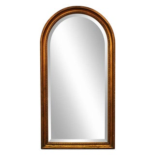 Gold Arched Framed Mirror