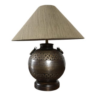 Frederick Cooper Etruscan Burnished Bronze Lamp