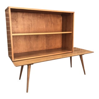 Paul McCobb Bookcase on Bench