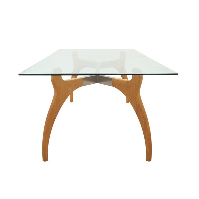 Mid Century Modern Glass Table - Image 6 of 7