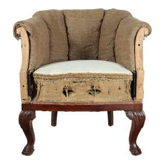 French Decontructed Club Chair