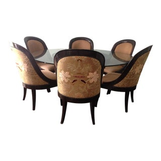 Marge Carson Dining Table & Chairs