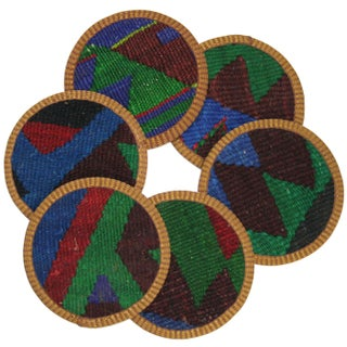 Kazazlar Kilim Coasters - Set of 6