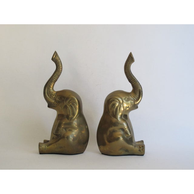 Image of Lucky Elephant Bookends