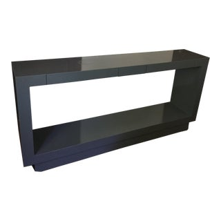 Mid-Century Modern Lacquered Palisades Console by Lawson-Fenning