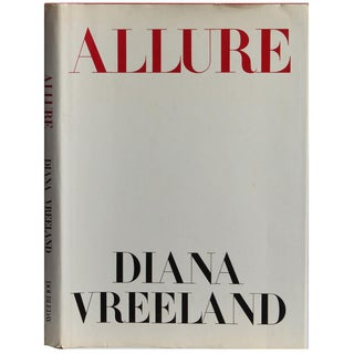 """Allure"" Hardcover Book by Diana Vreeland"