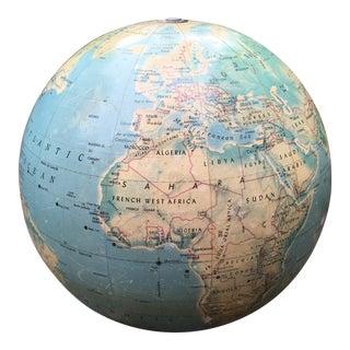 Mid-1950s Rand McNally Centennial Twelve Globe