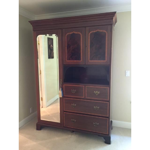 Image of Antique Bedroom Armoire