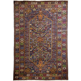 "Contemporary Hand-Knotted Rug - 6'10"" x 10'1"""