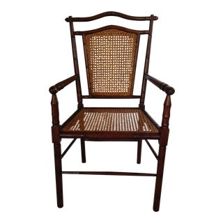 Bamboo & Caning Arm Chair