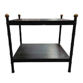 Chinoiserie 2 Tier Side Table