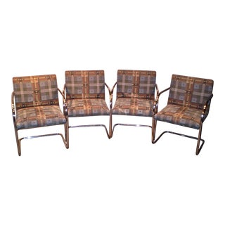 Brno Style Dining Chairs - Set of 4