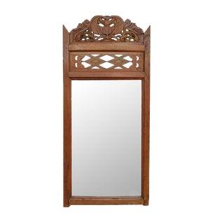 Balinese Teak Mirror Frame