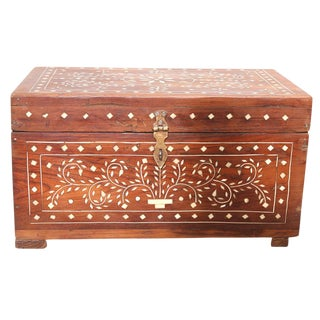 Anglo Indian Inlaid Cash Box
