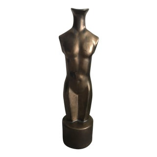 Nude Body Sculpture Vase