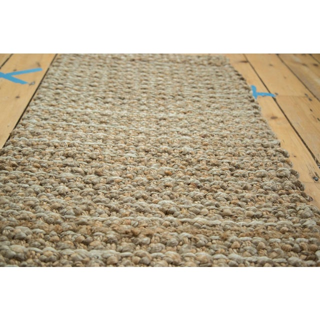 """Hand Braided Beige Entrance Mat - 2' X 3'2"""" - Image 2 of 2"""