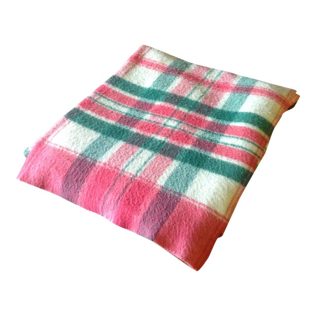 Vintage Plaid Picnic/Gameday Blanket - Image 1 of 11