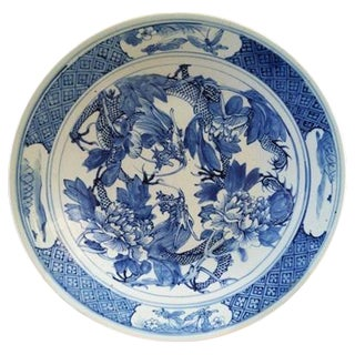Blue & White Chinese Charger
