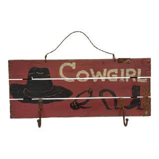 Cowgirl Hat Rack