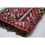 Image of Vintage Kilim Style Rug - 3′ × 4′7″