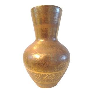 Stangl Pottery Granada Gold Vase