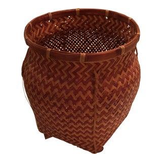 Polynesian Style Warm Harvesting Basket
