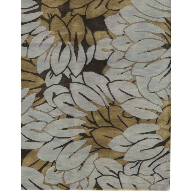 """Contemporary Hand Woven Rug - 6'1"""" x 9'2"""" - Image 3 of 3"""