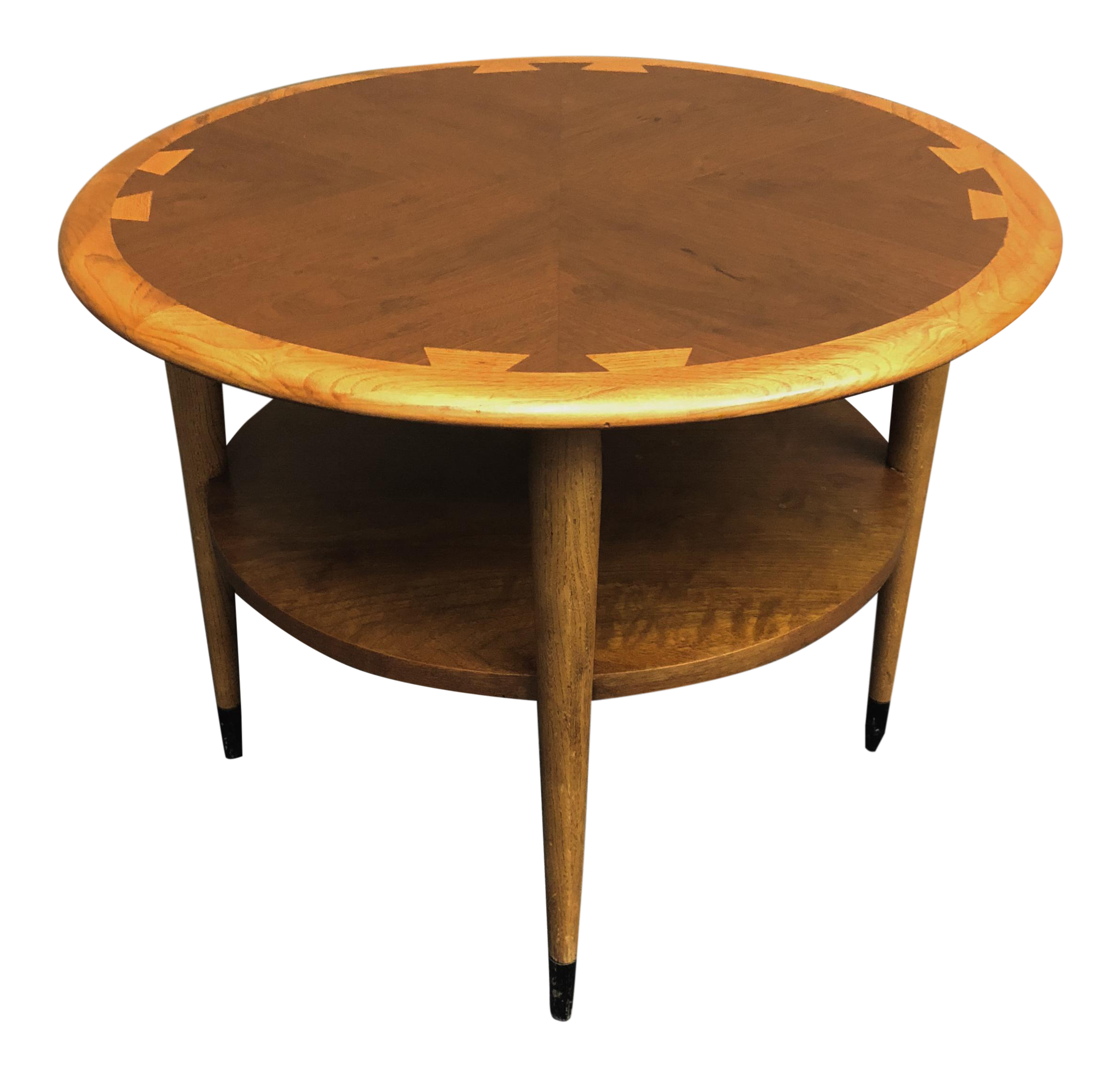 Mid Century Modern Lane Acclaim Round End Table