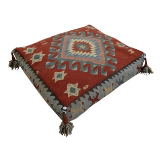 Turkish Hand-Woven Floor Cushion Sitting Pillow - 22″ X 24″