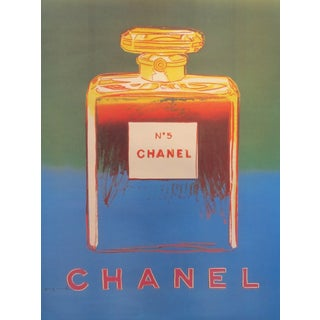 Blue and Green Andy Warhol 1997 Chanel No.5 Poster