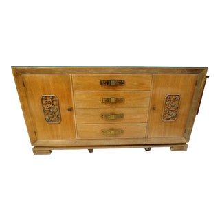 James Mont Style Asian Mid-Century Modern Sideboard