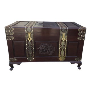 Rosewood Oriental Hope Chest