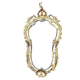 Antique Rococo Style Wall Mirror