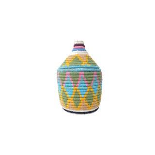 'Easter Dye' Moroccan Woven Bread Basket