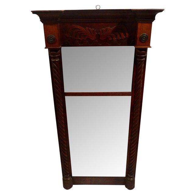 Image of Antique American Federal Mahogany Mirror