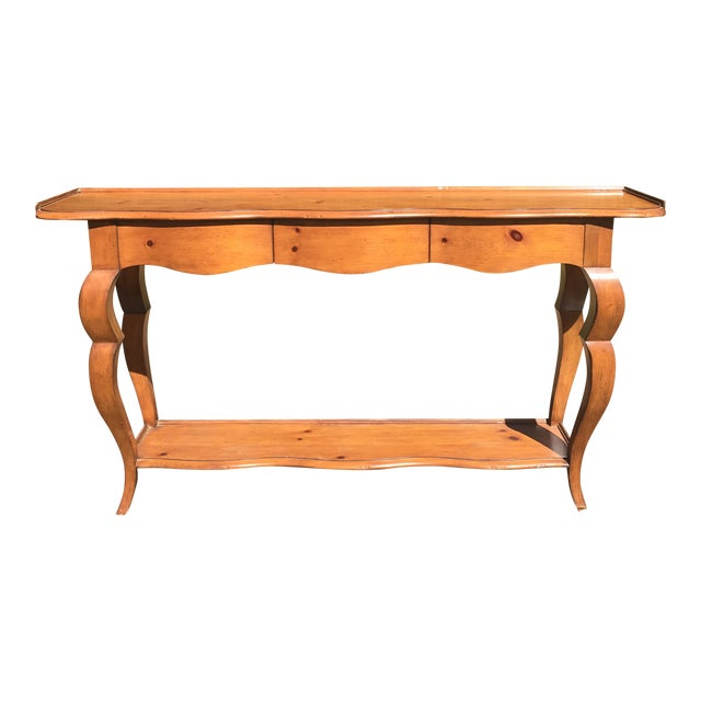 Baker Furniture Milling Road Console Table - Image 1 of 9