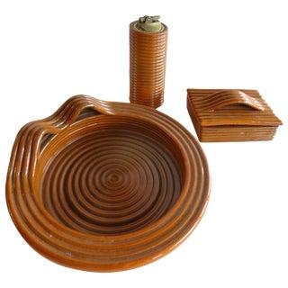 Handmade Italian Raymor Smoking Set - Set of 3