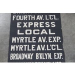 Image of Vintage New York City Subway Scroll