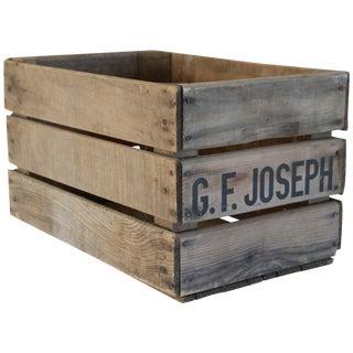 Vintage Wooden Fruit Crate
