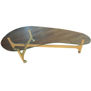 Adrian Pearsall Kidney Shaped Coffee Table