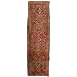 Antique Persian Sarab Runner - 3′7″ × 12′1″