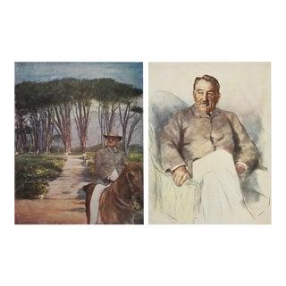 Magnate Cecil Rhodes Prints - A Pair