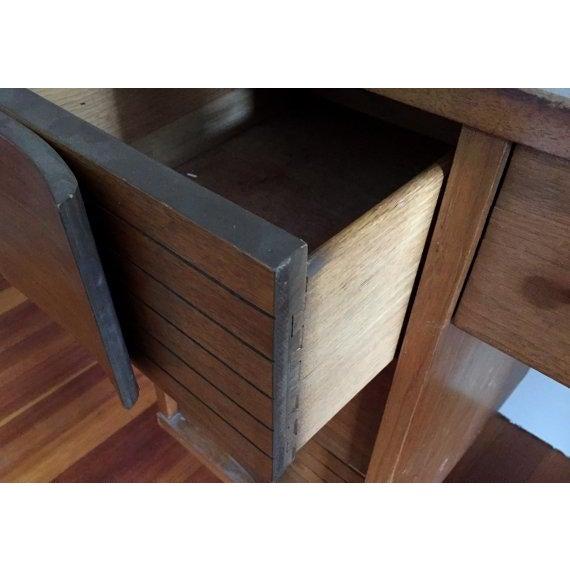Image of Mid Century Modern Johnson Carper Desk