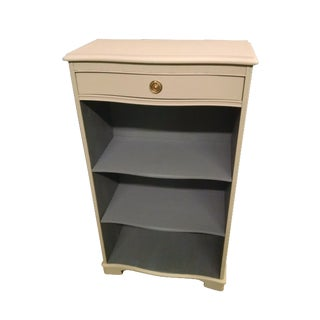 Vintage Bookcase With Drawer