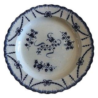 Antique English Creamware Wall Plate