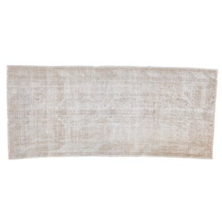 "Distressed Oushak Rug - 2'11"" X 6'7"""