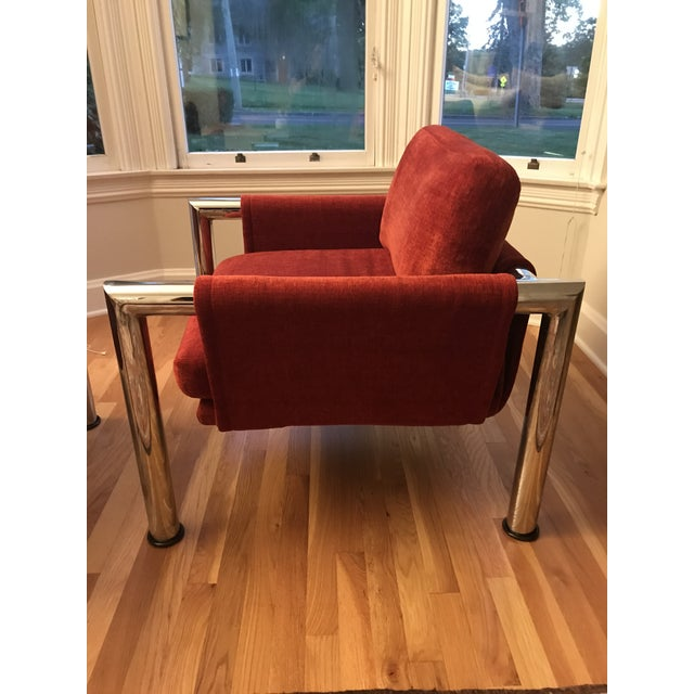 Mid-Century Modern Side Chairs - A Pair - Image 4 of 5
