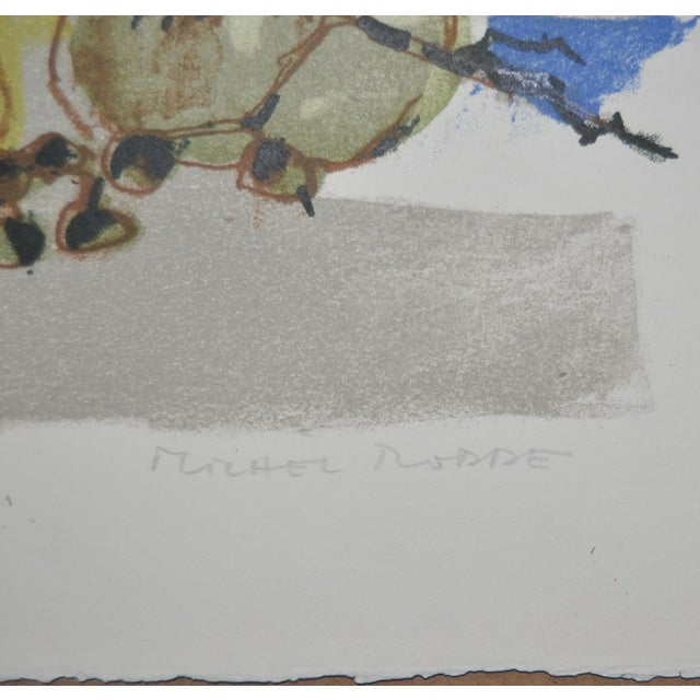Michel Rodde (1913–2009) Vintage Lithograph - Image 3 of 8