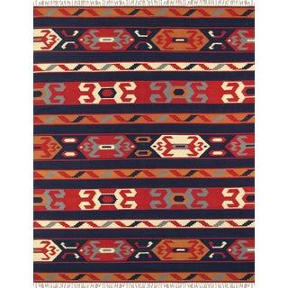 "Anatolian Hand-Woven Cotton Rug - 8' 0"" X 10' 0"""
